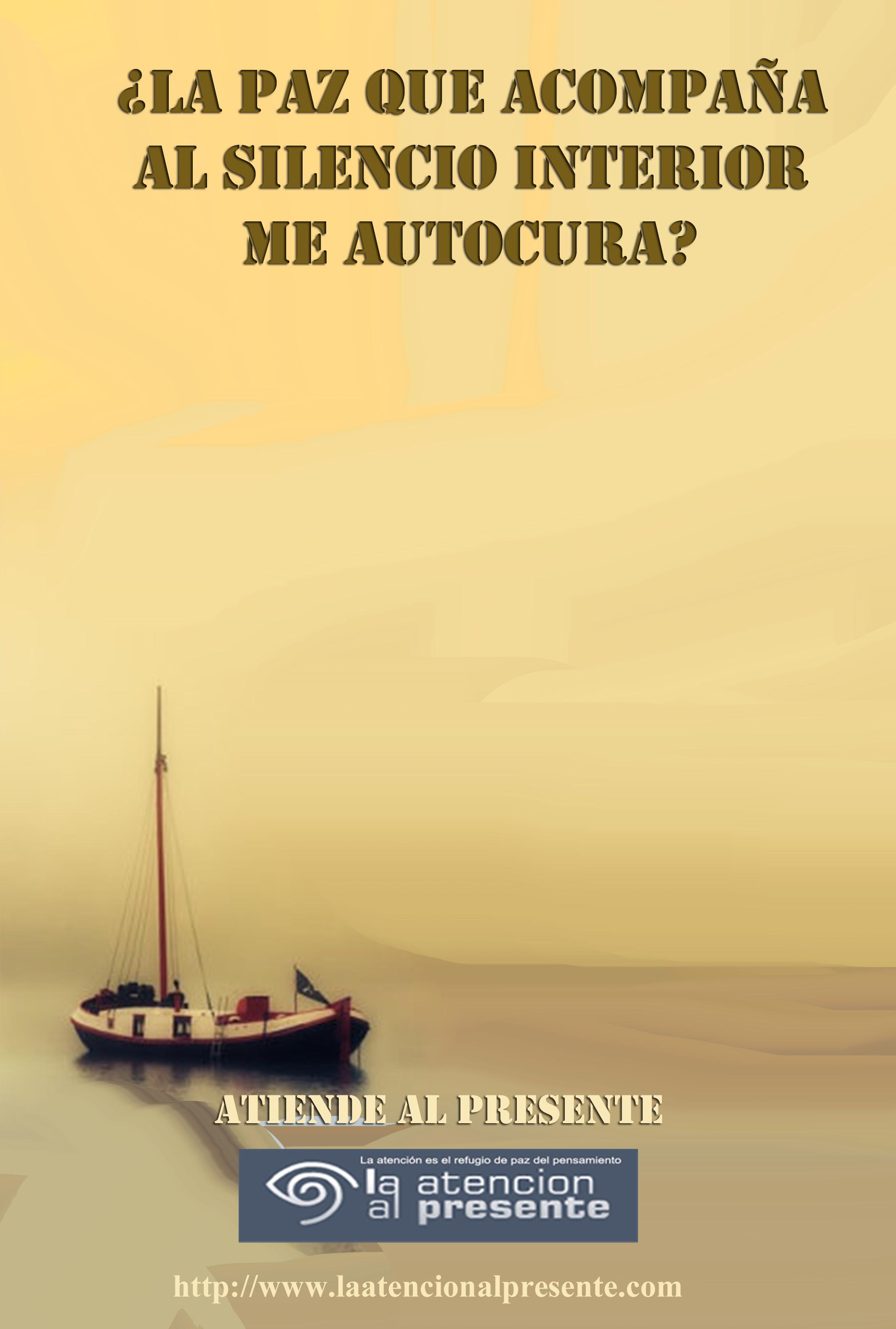 24 de setiembre Pepe La Paz que acompaña al silencio interior me autocura