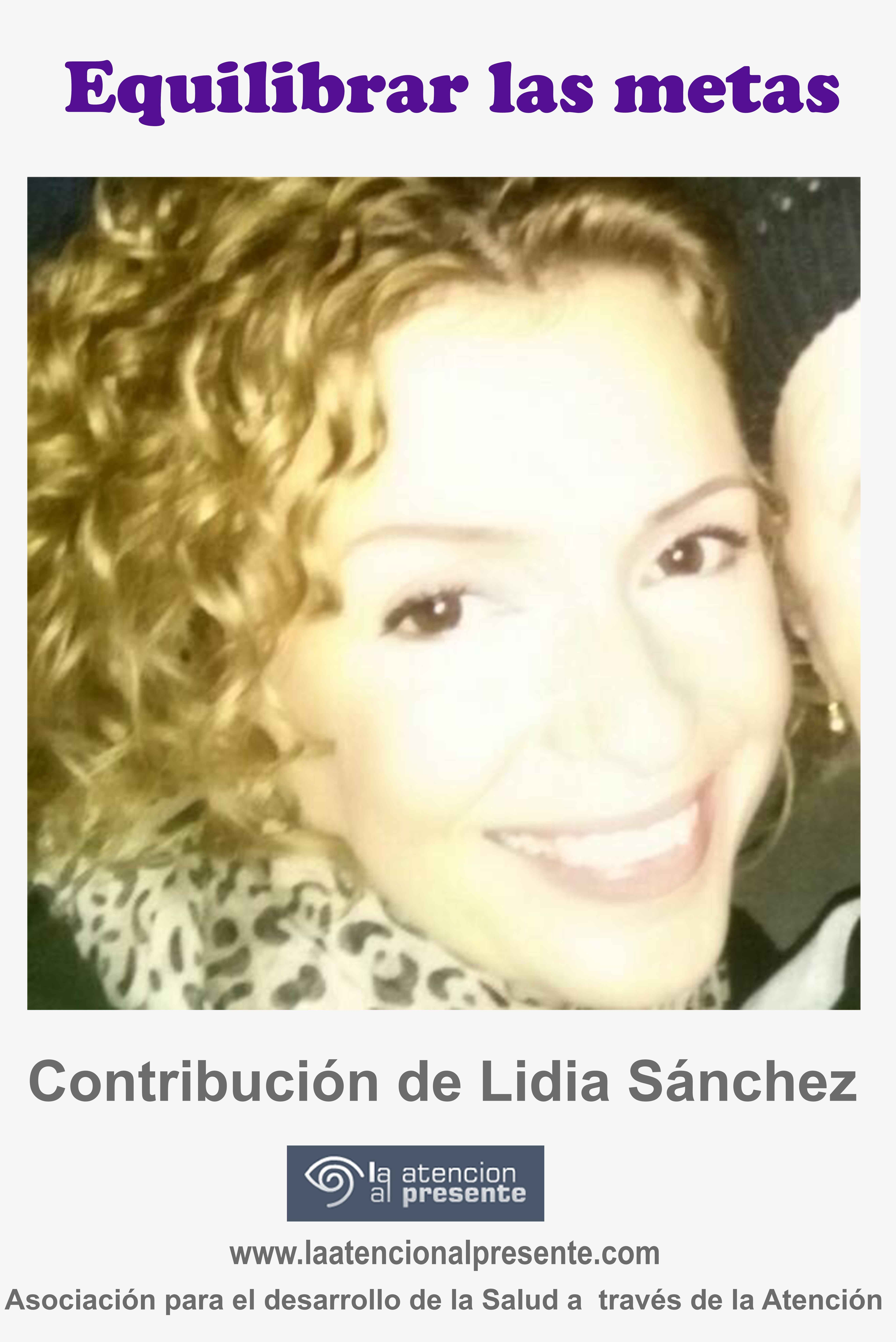 26 de setiembre Lidia Sanchez