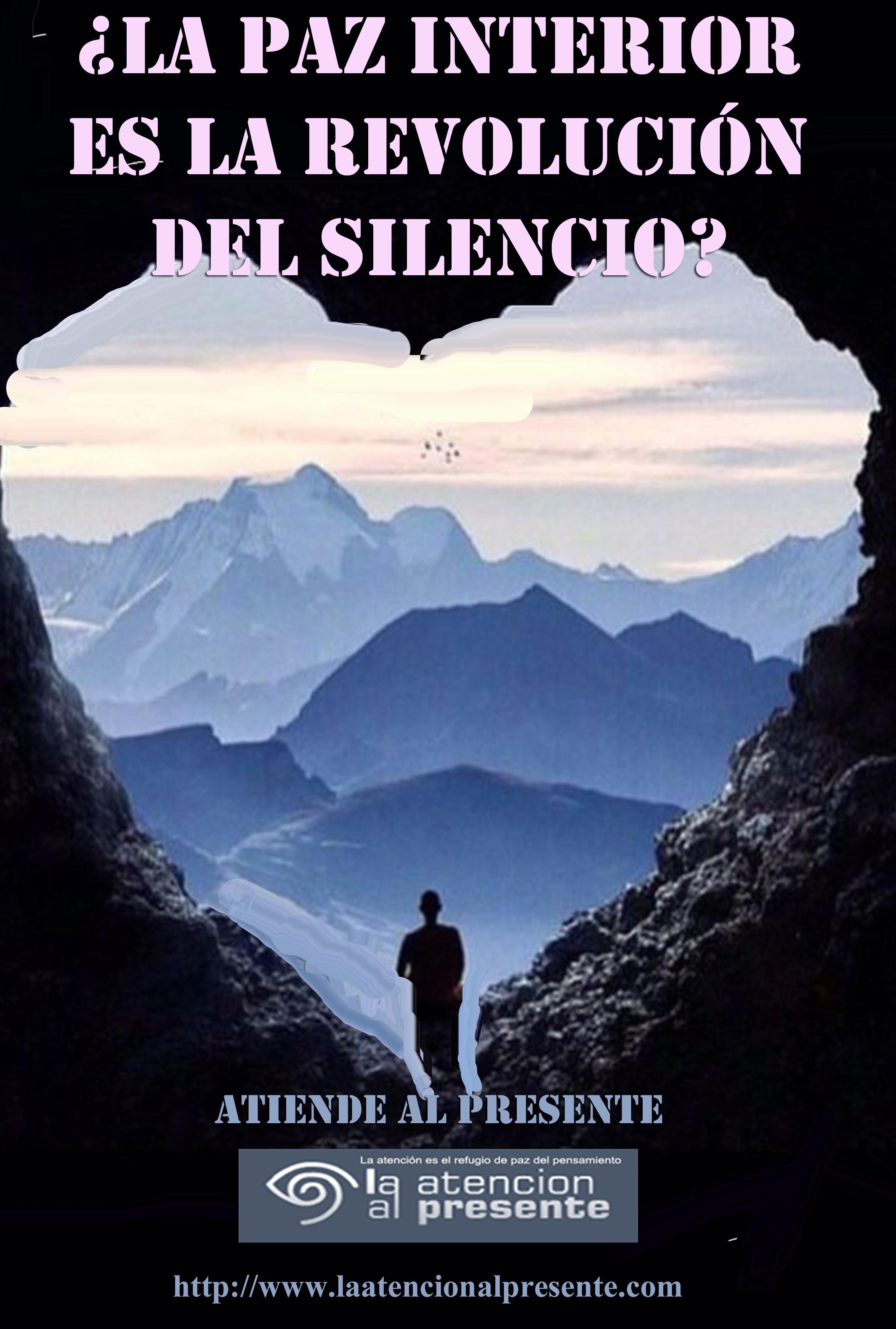 5 de diciembre Esteban La PAZ INTERIOR es la REVOLUCIÓN del SILENCIO