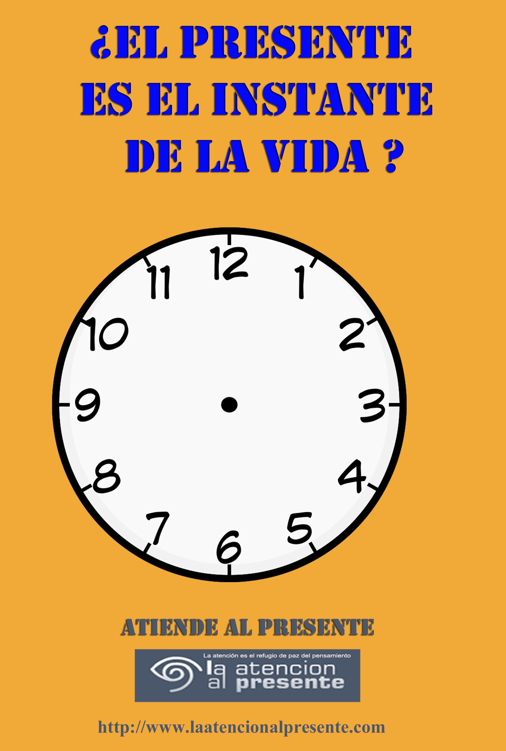 13 de diciembre ISA El Presente es el INSTANTE de la VIDA
