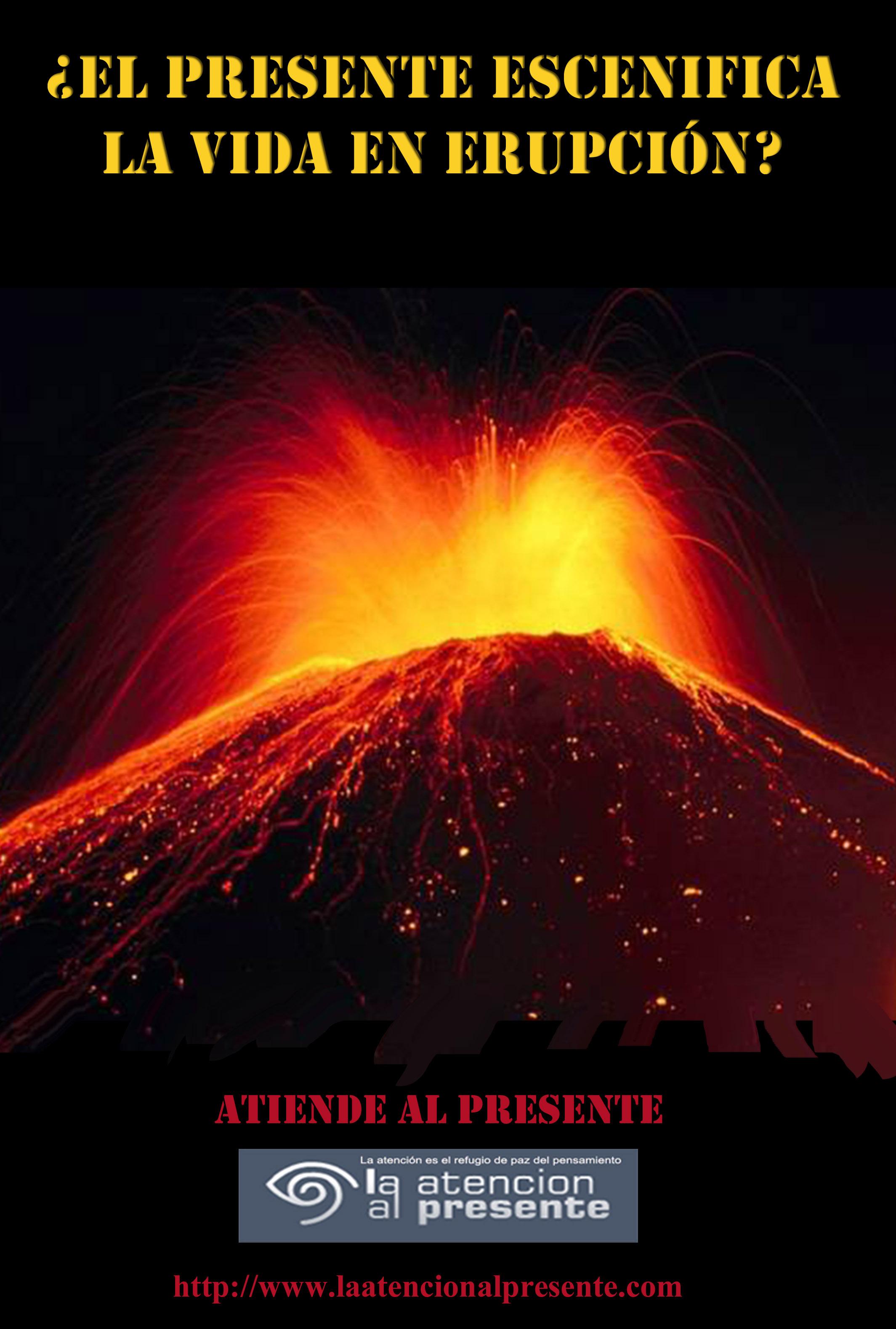 20 de diciembre ISA El presente escenifica la vida en erupción