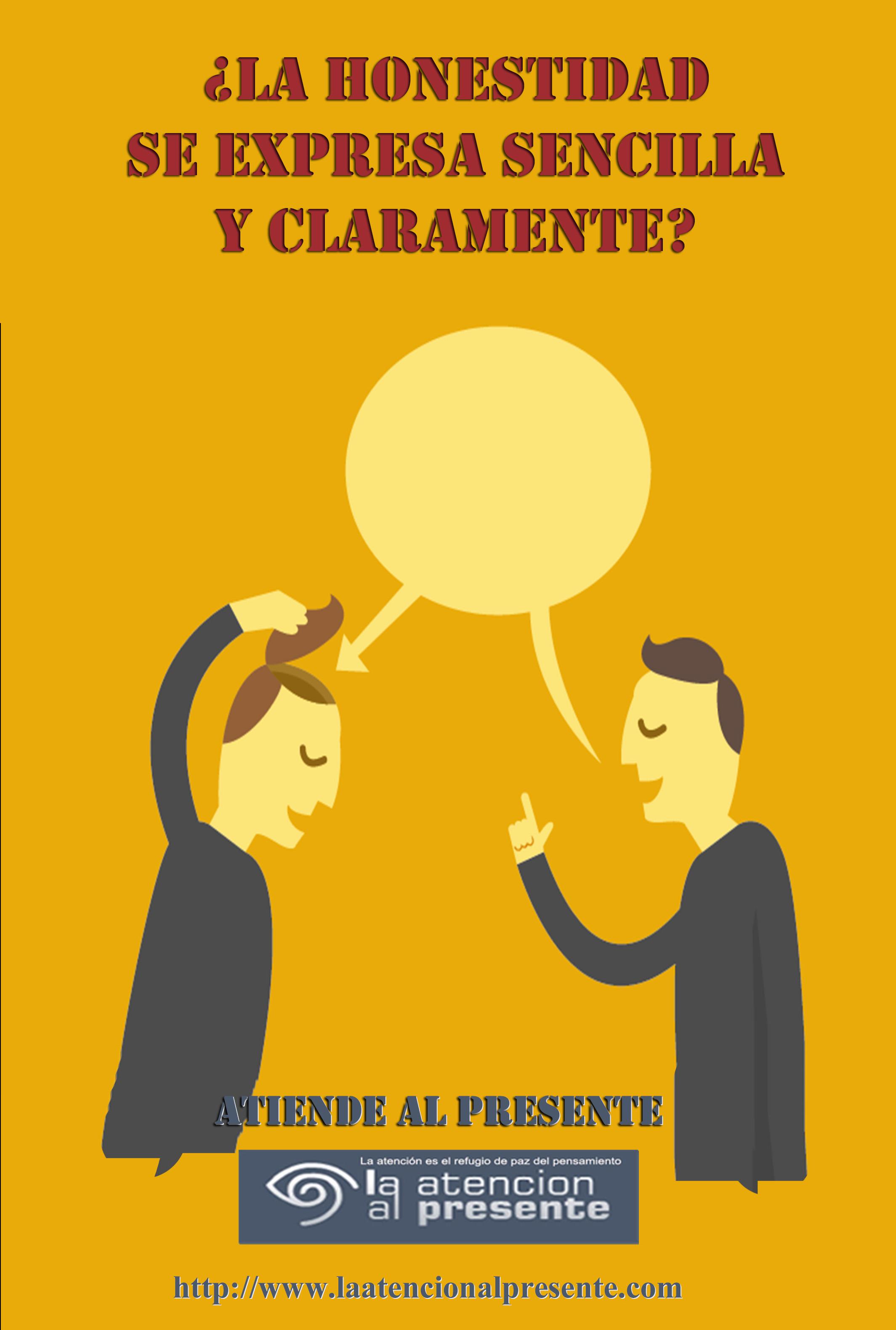 25 de febrero Isa La HONESTIDAD se expresa SECILLA Y CLARAMENTE