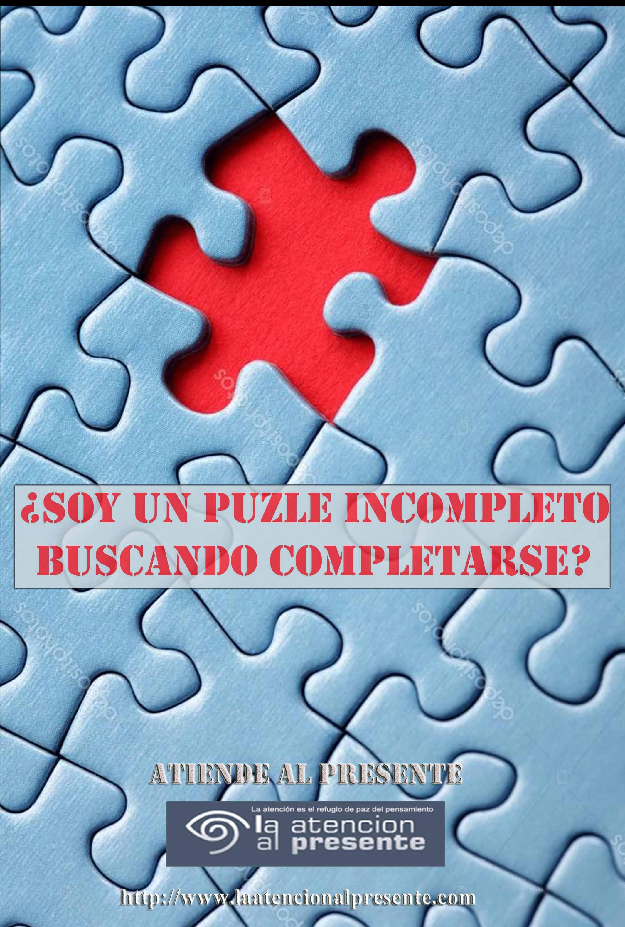29 de enero Pepe Soy un puzle incompleto buscando completarse
