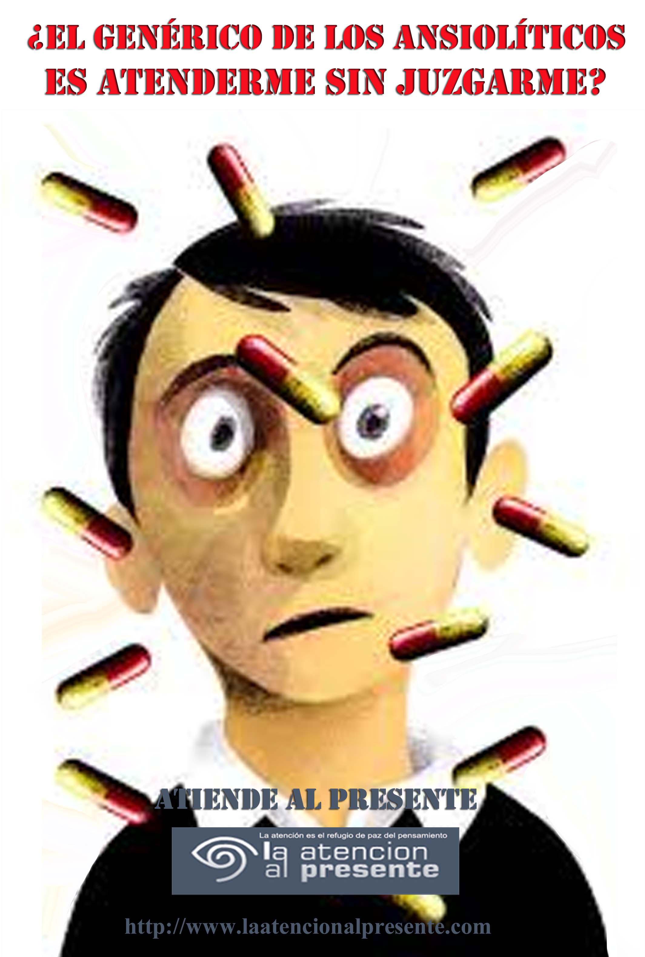 13 de marzo Esteban El genérico de los ansiolíticos es atenderme sin juzgarme. MENOS PESO