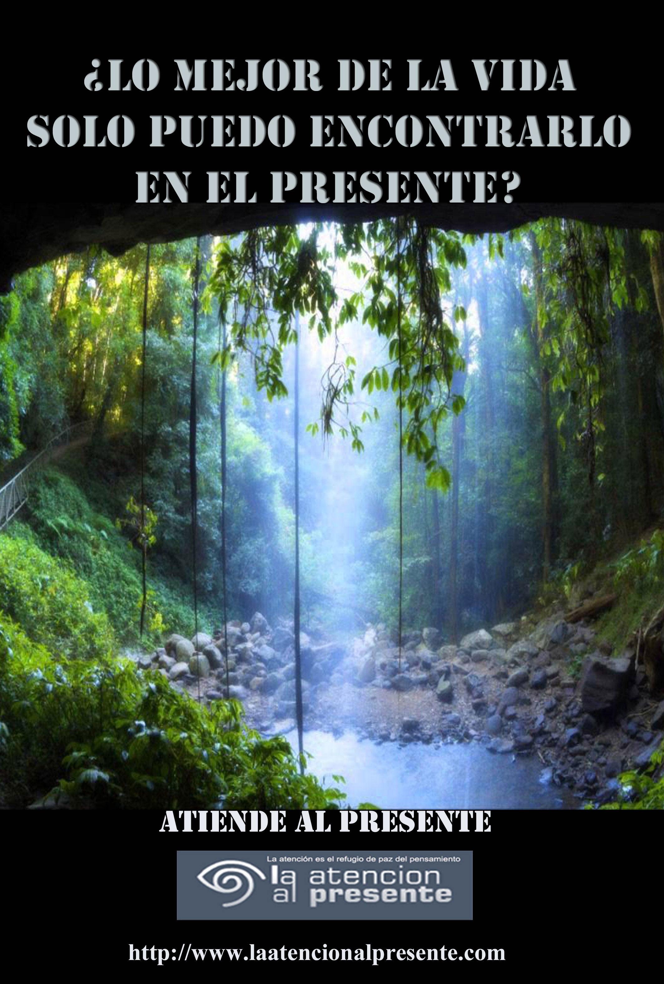 18 de marzo Isa Lo MEJOR de la VIDA SOLO puedo encontrarlo en el PRESENTE. MENOS PESO