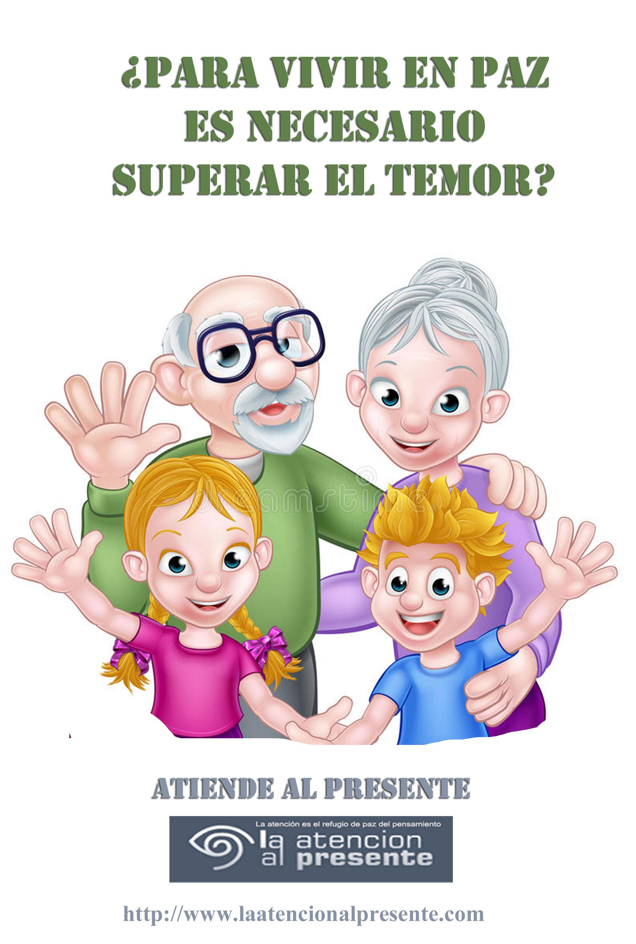 29 de abril Isa Para VIVIR en PAZ es necesario superar el TEMOR. MENOS PESO