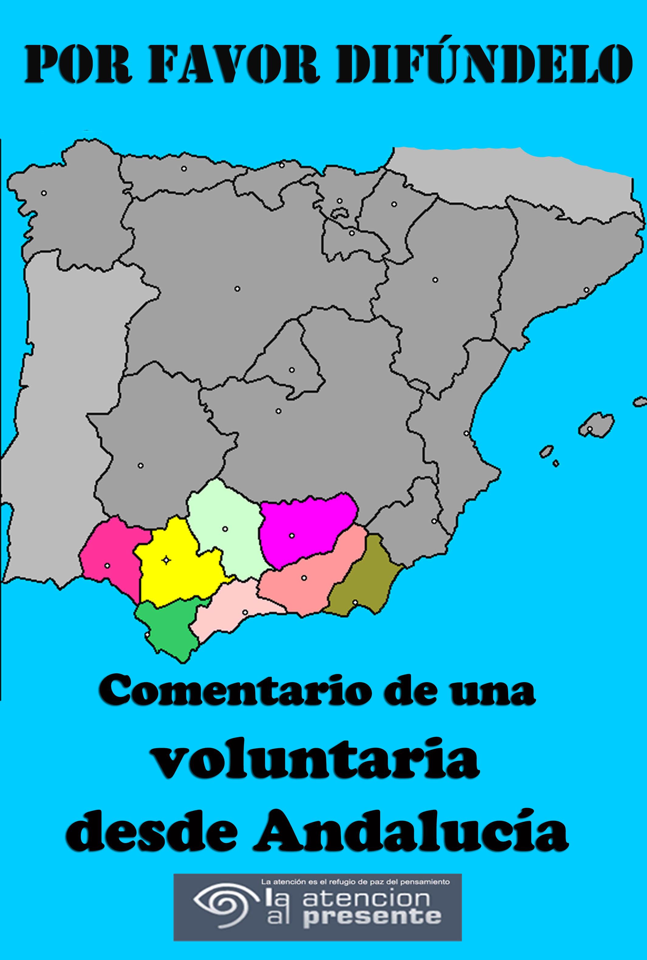 22 de abril Comentario de una voluntaria desde Andalucía 1
