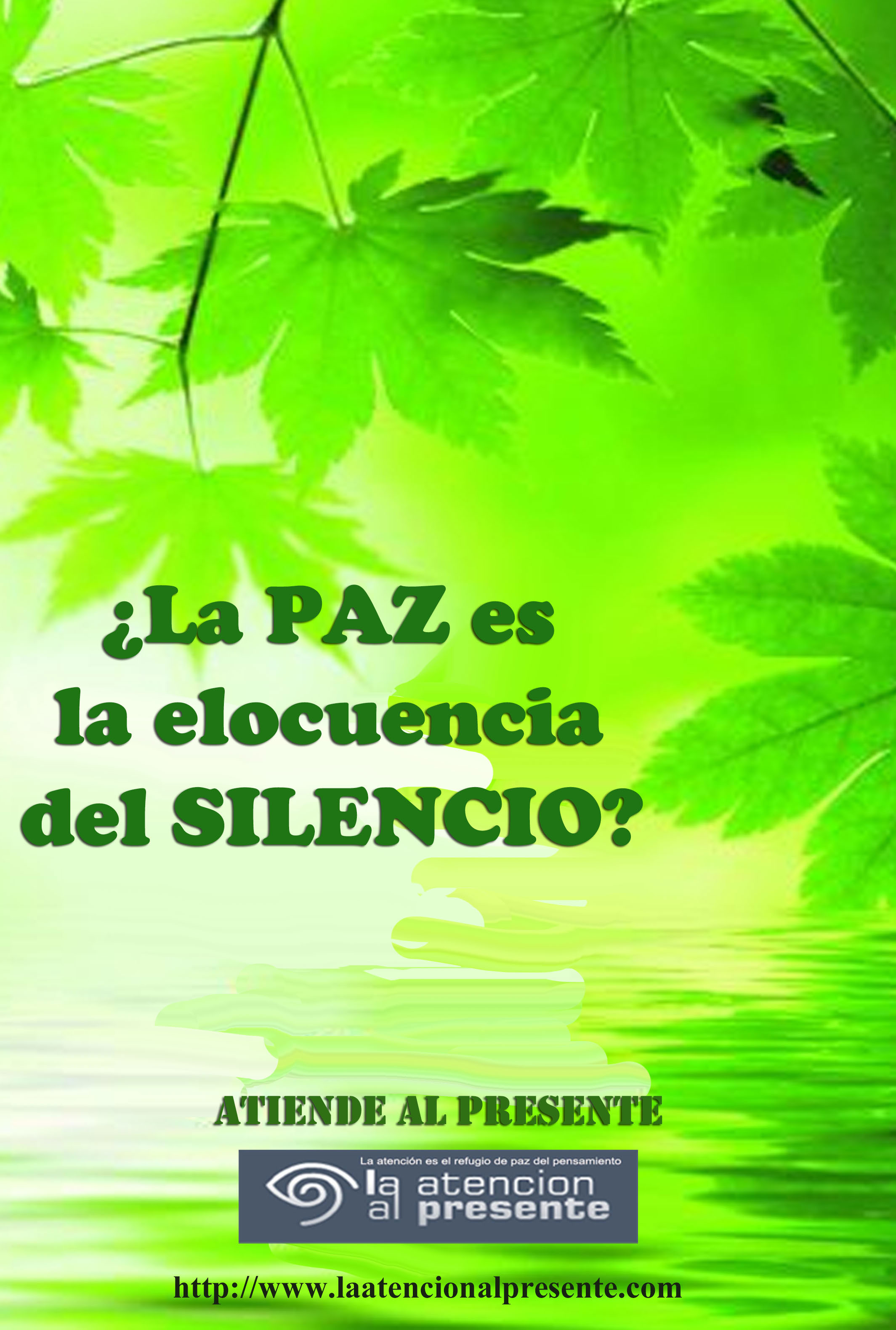 26 de junio Esteban La PAZ es la elocuencia del SILENCIO C