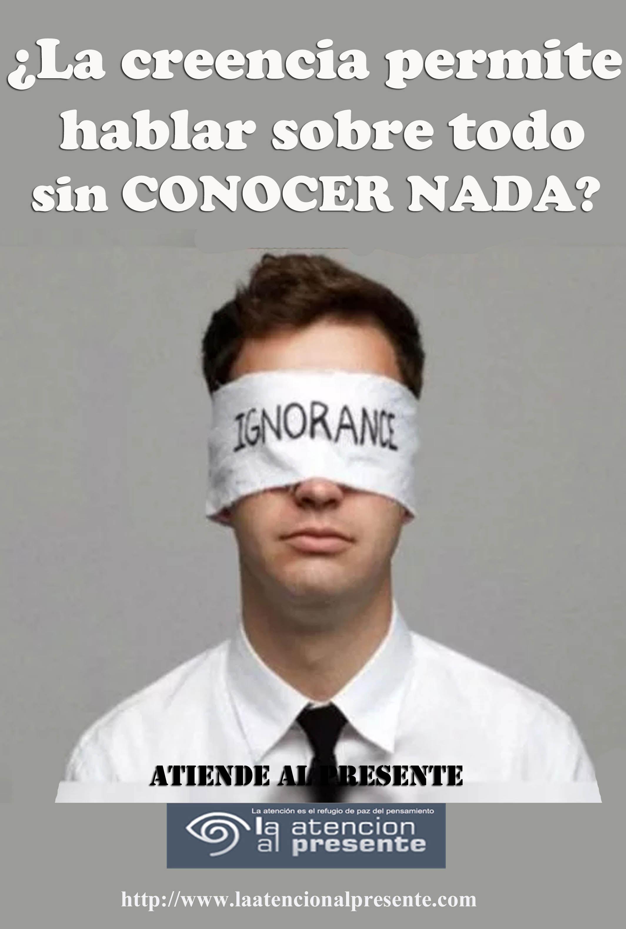 30 de junio Esteban La creencia permite hablar sobre todo sin CONOCER NADA