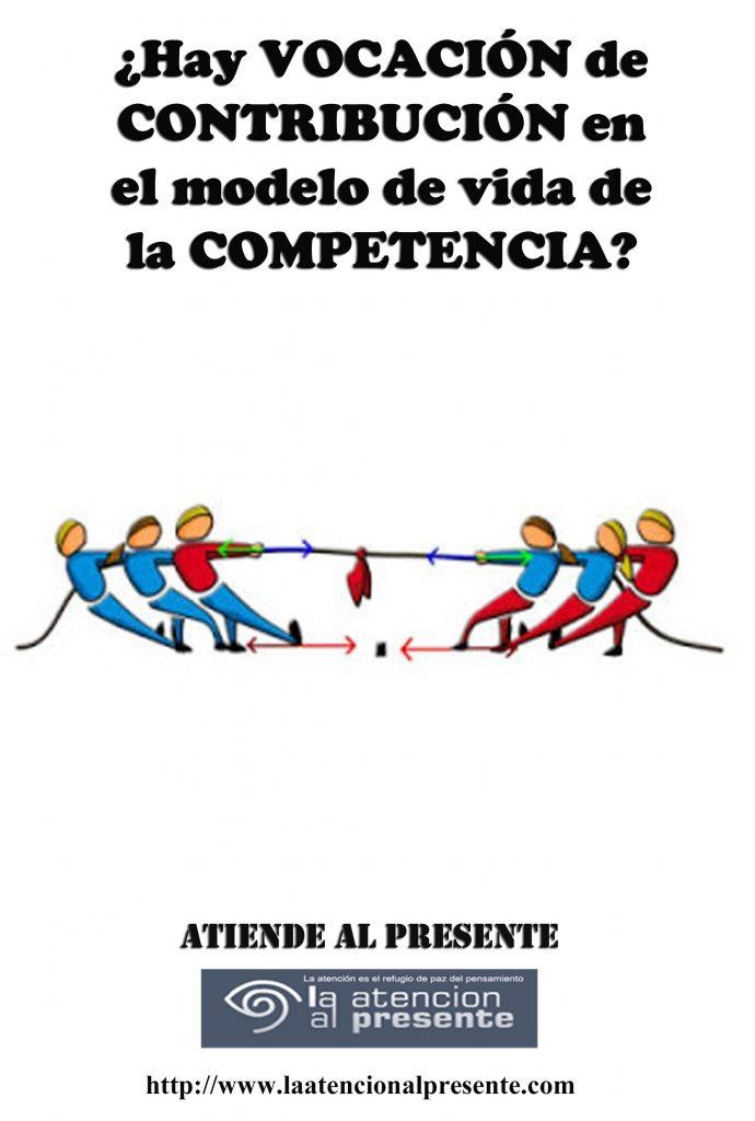 16 de setiembre Esteban Hay VOCACIÓN de CONTRIBUCIÓN en el modelo de vida de la COMPETENCIA