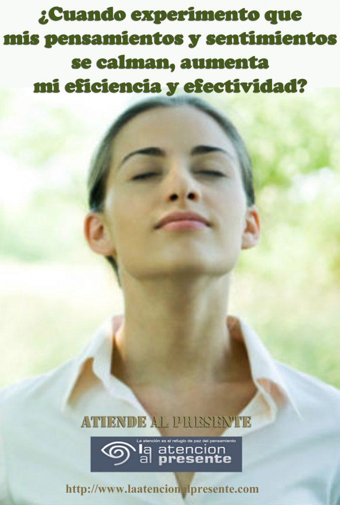 30 de setiuembre Esteban Cuando experimento que mis pensamientos y sentimientos se calman aumenta mi eficiencia y efectividad min