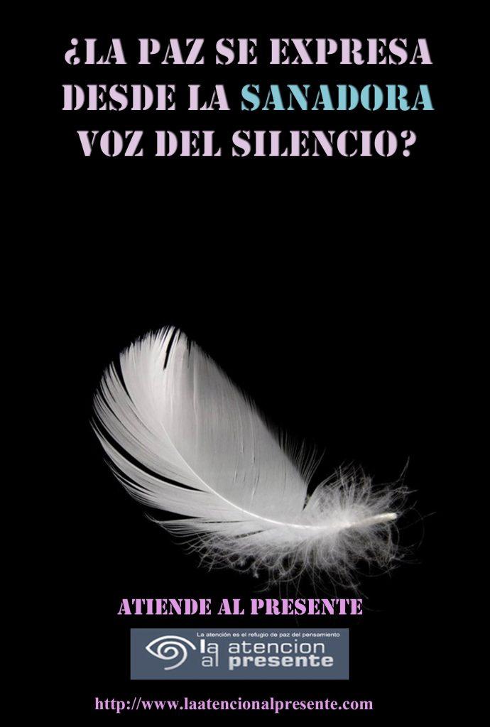 4 de octubre La PAZ se expresa desde la SANADORA voz del SILENCIO min