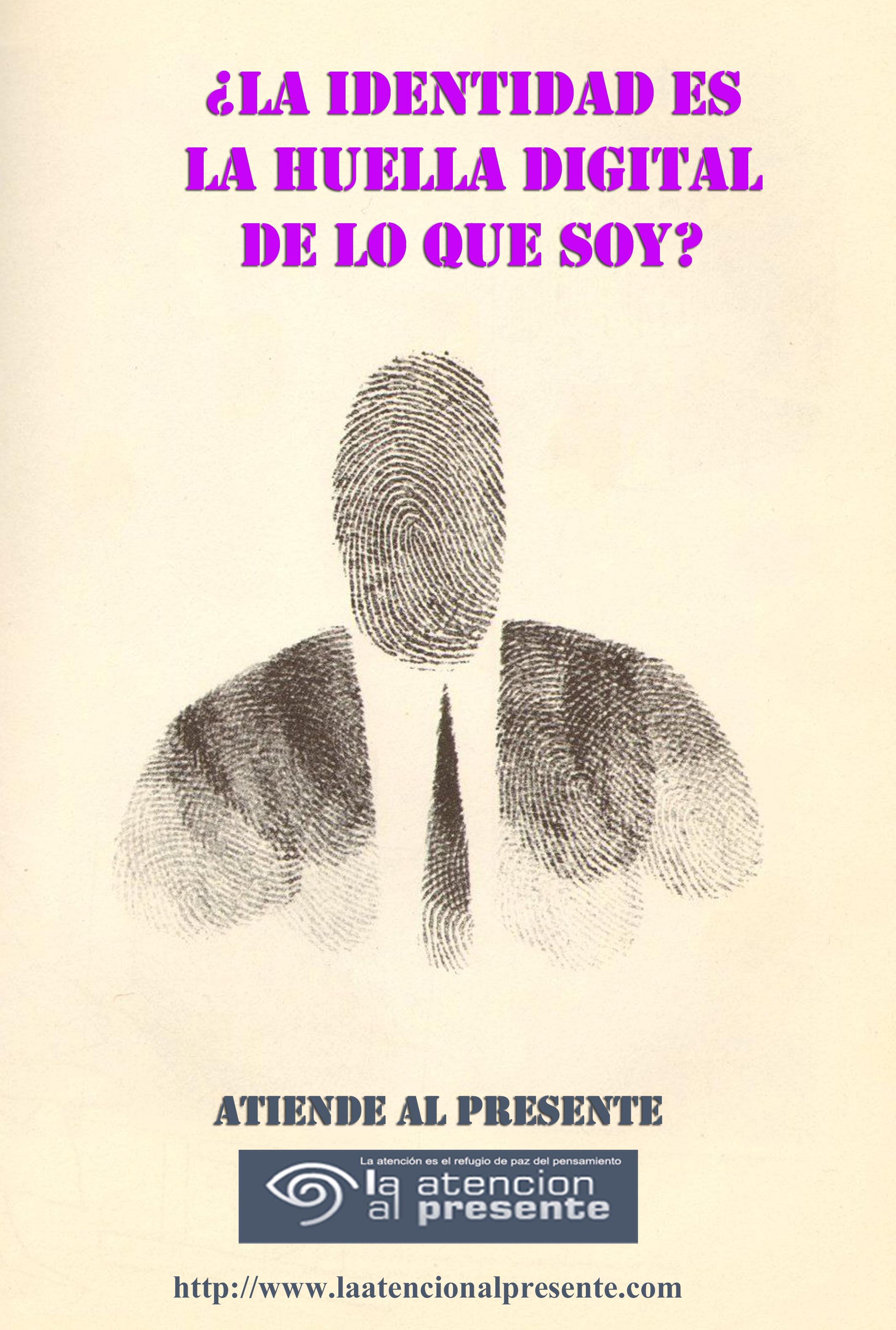 28 de noviembre ISA La identidad es la huella digital de lo que SOY min