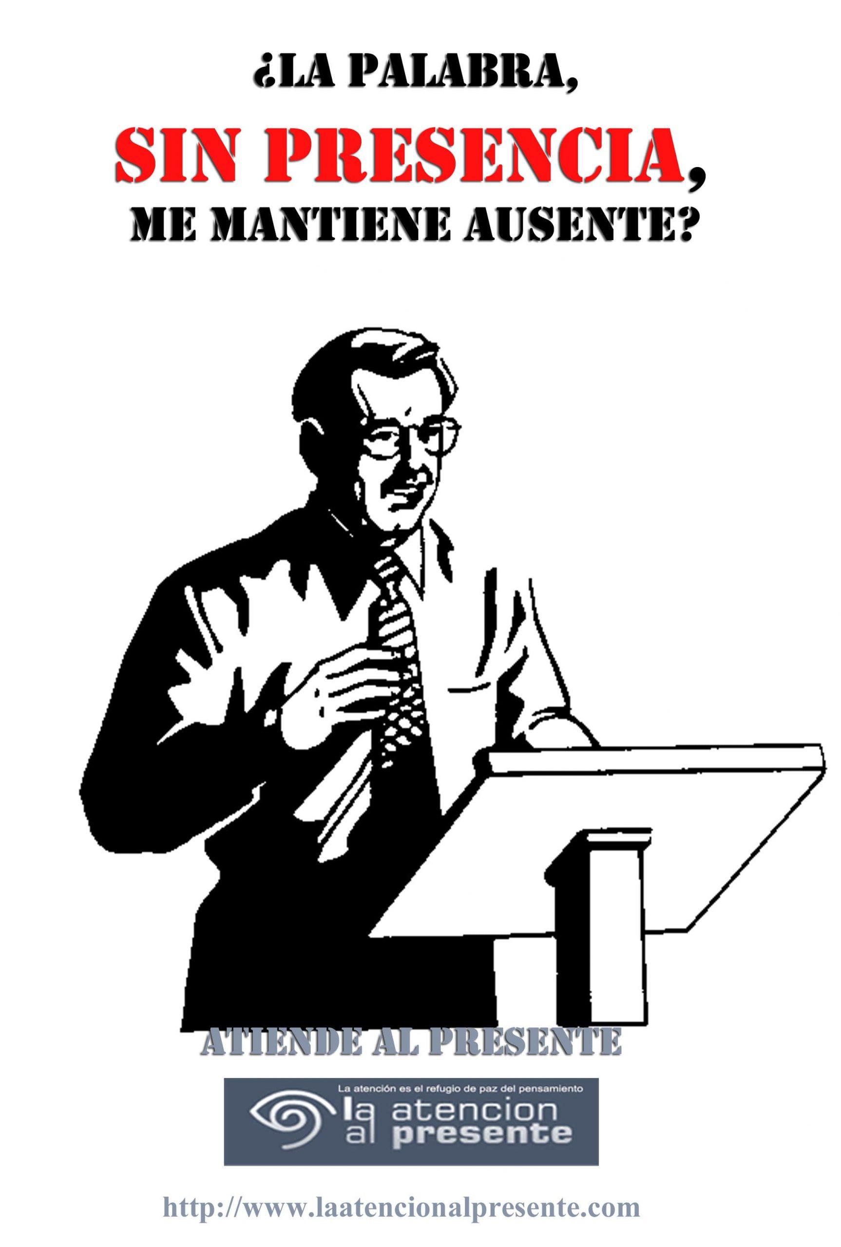 6 de diciembre Esteban La palabra sin PRESENCIA me AUSENTA min scaled