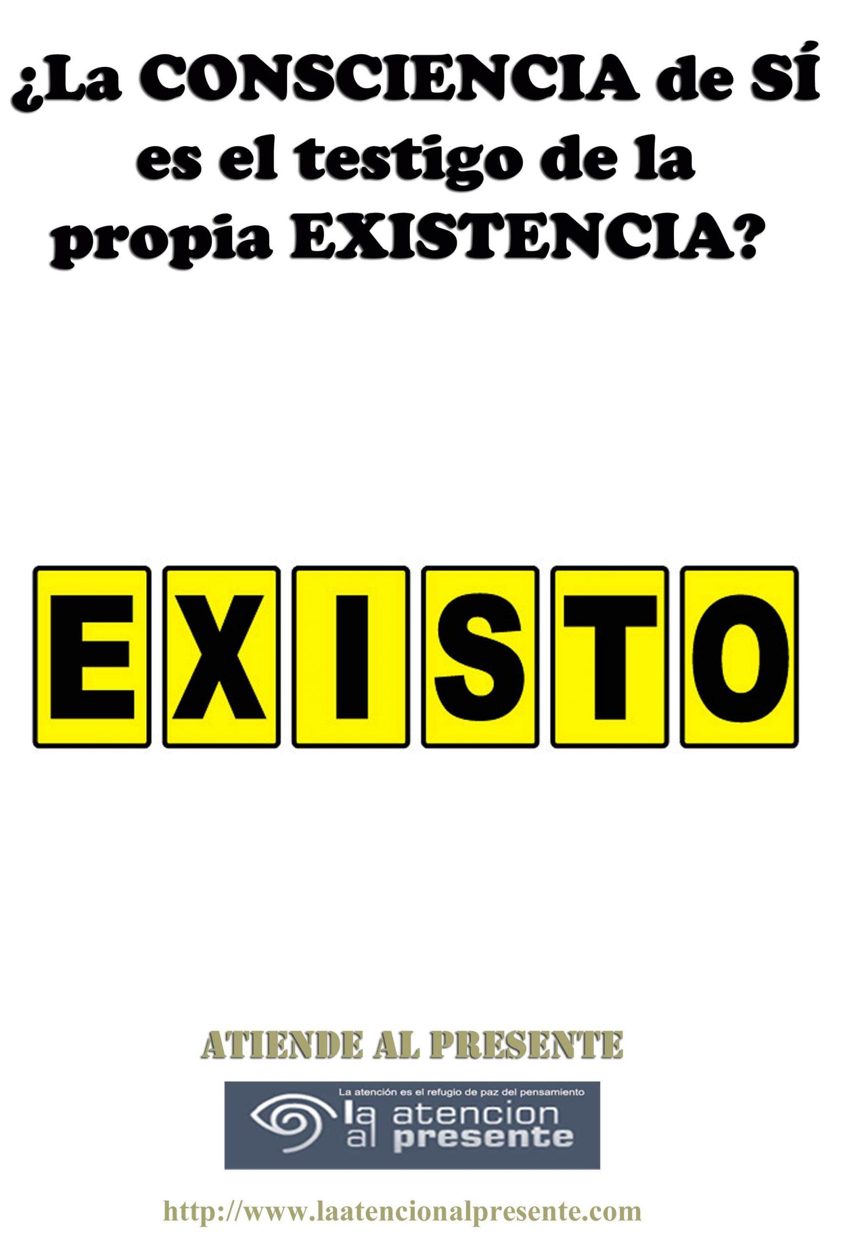 4 de abril Esteban La CONSCIENCIA de SI es el testigo de la propia EXISTENCIA min 1 scaled