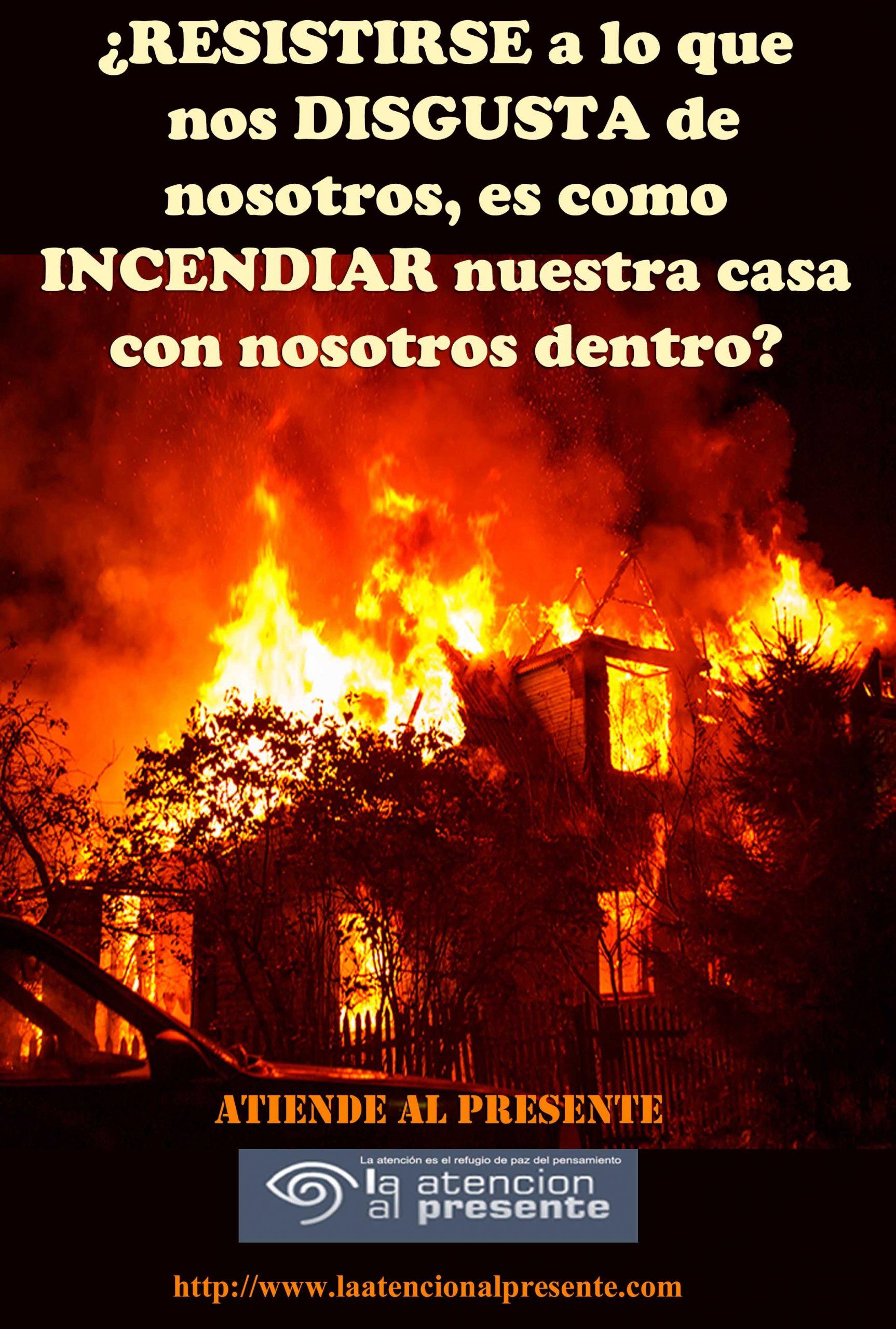 29 de junio Isa RESISTIRSE a lo que nos DISGUSTA de nosotros es como incendiar nuestra casa con nosotros dentro min scaled