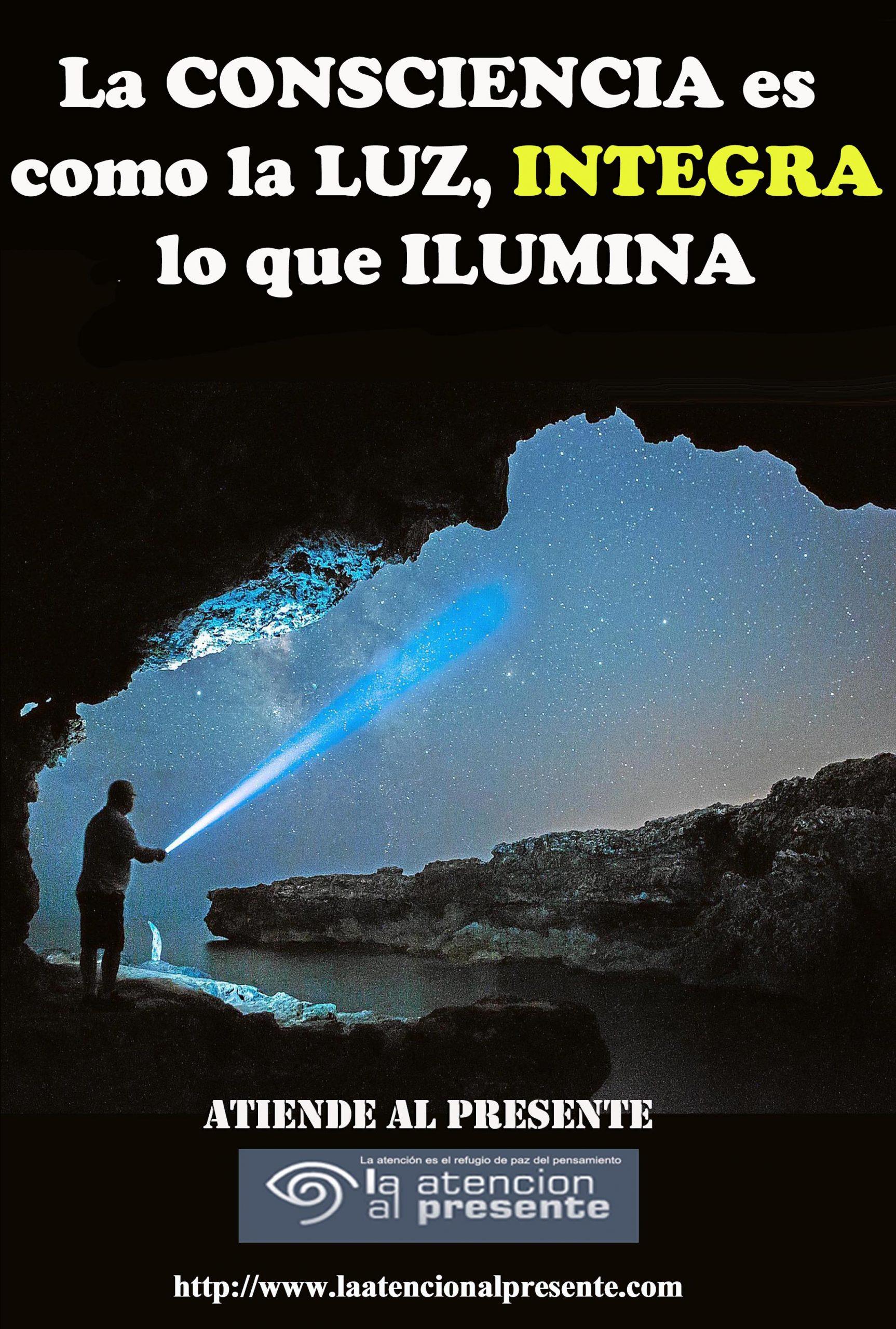 18 de set Esteban La CONSCIENCIA es como la LUZ integra lo que ILUMINA min scaled