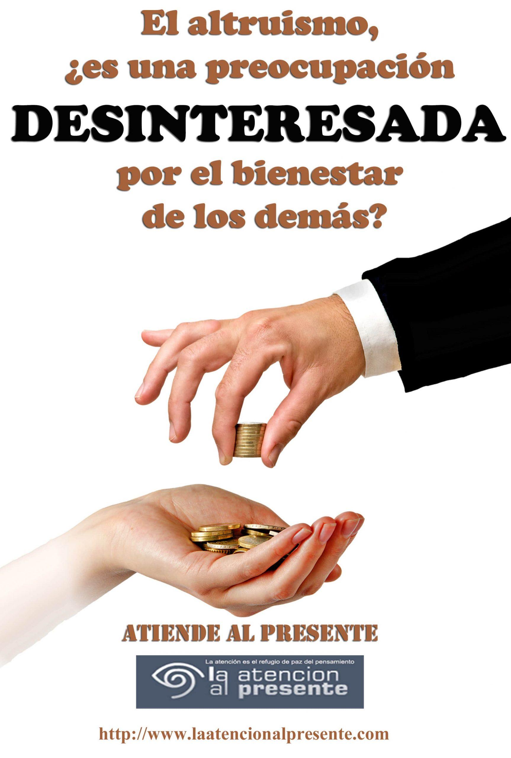 2 de Set Esteban El altruismo ¿es una preocupacion DESINTERESADA por el bienestar de los demas min scaled
