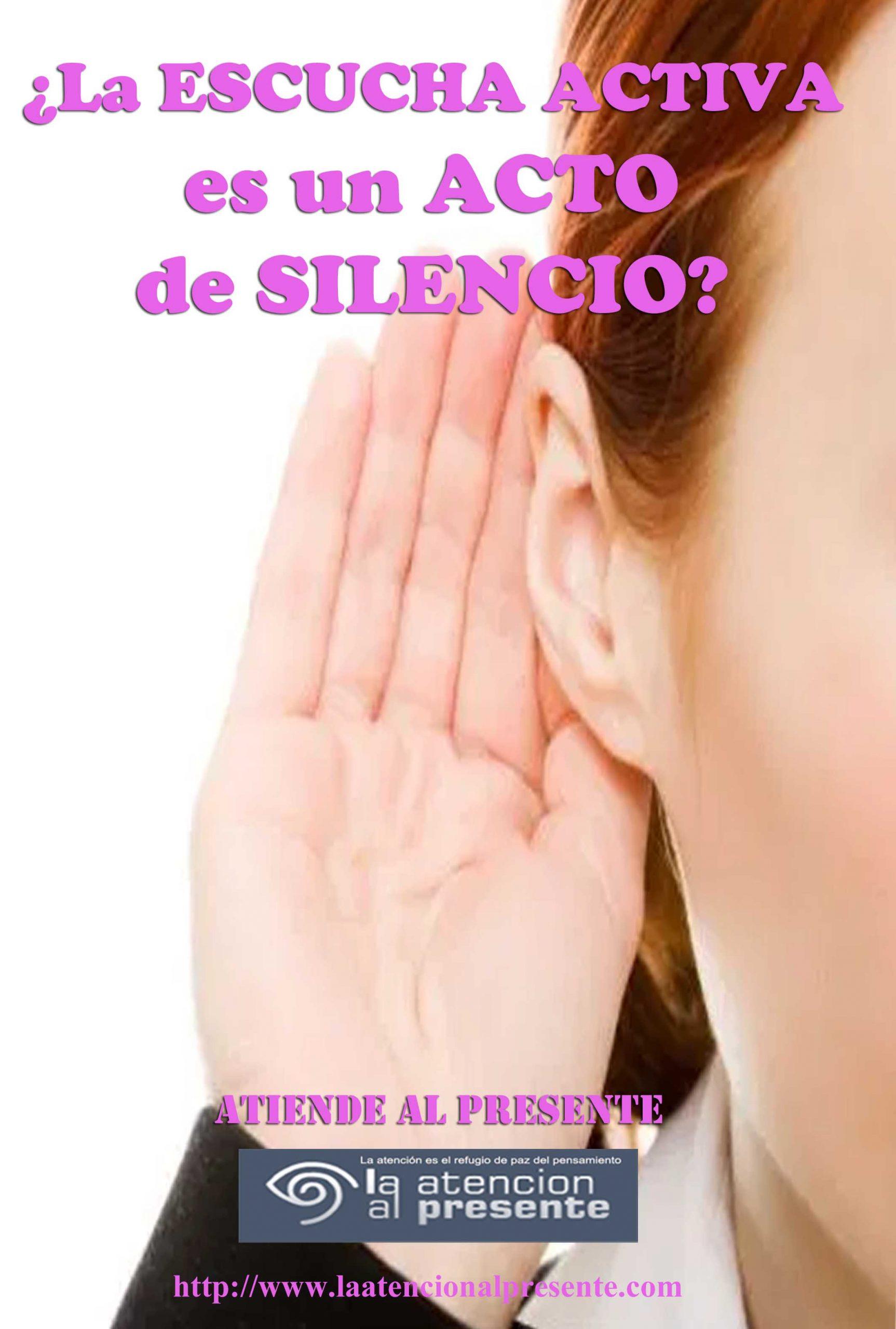 15 de Octubre ISA La ESCUCHA ACTIVA es un ACTO de SILENCIO min scaled