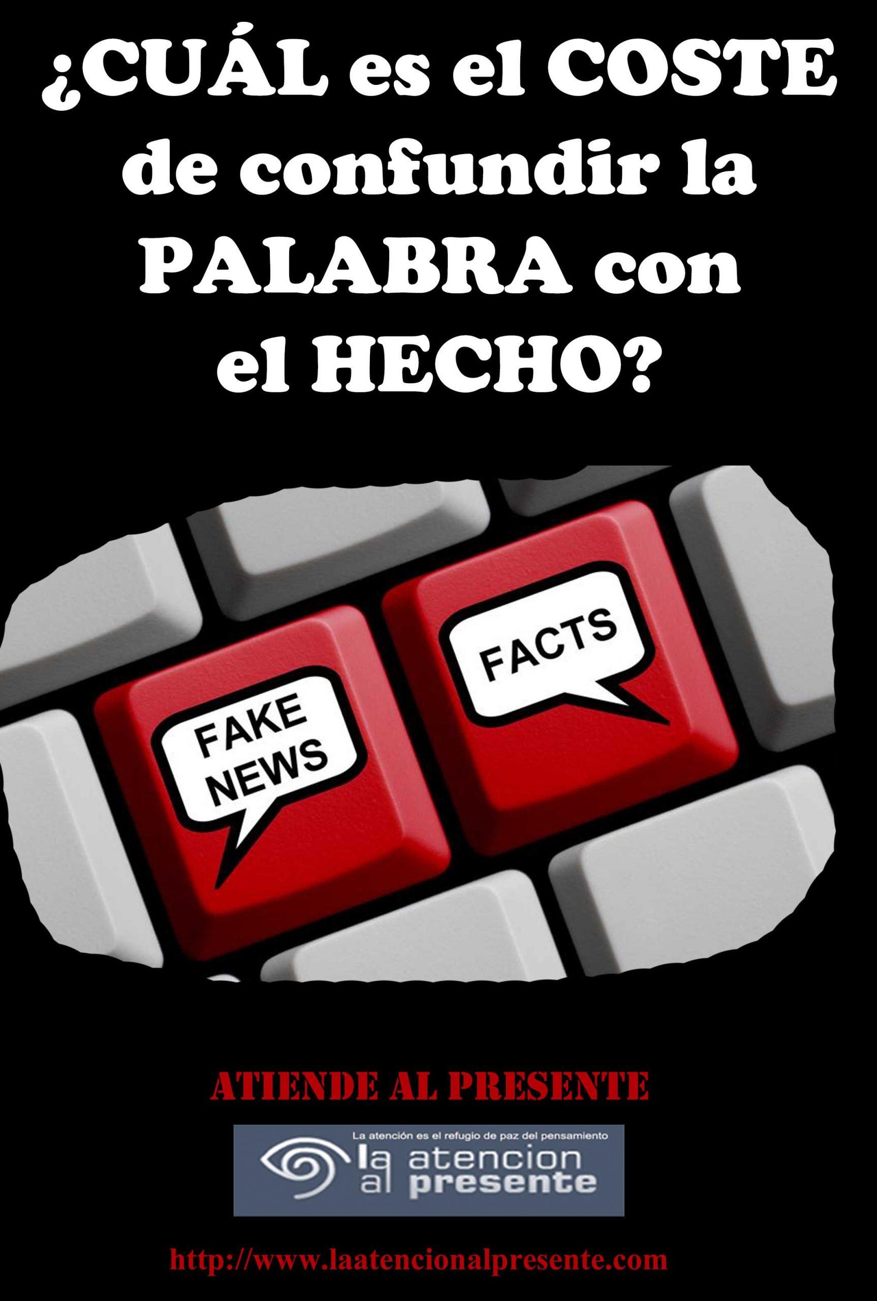 27 de Noviembrre ISA CUAL es el COSTE de confundir la PALABRA con el HECHO 2 min scaled