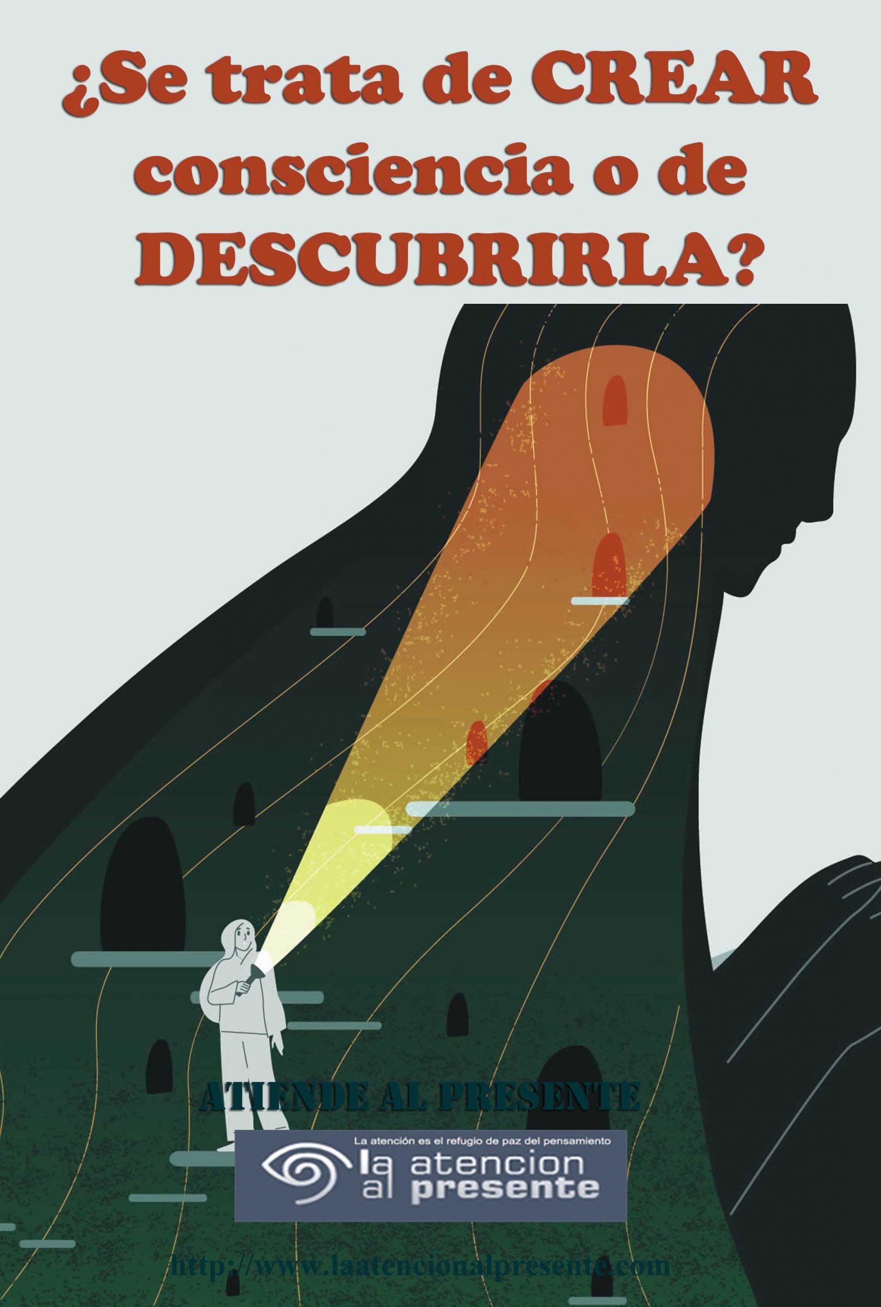 26 de Diciembre Esteban Se trata de CREAR consciencia o de DESCUBRIRLA min scaled