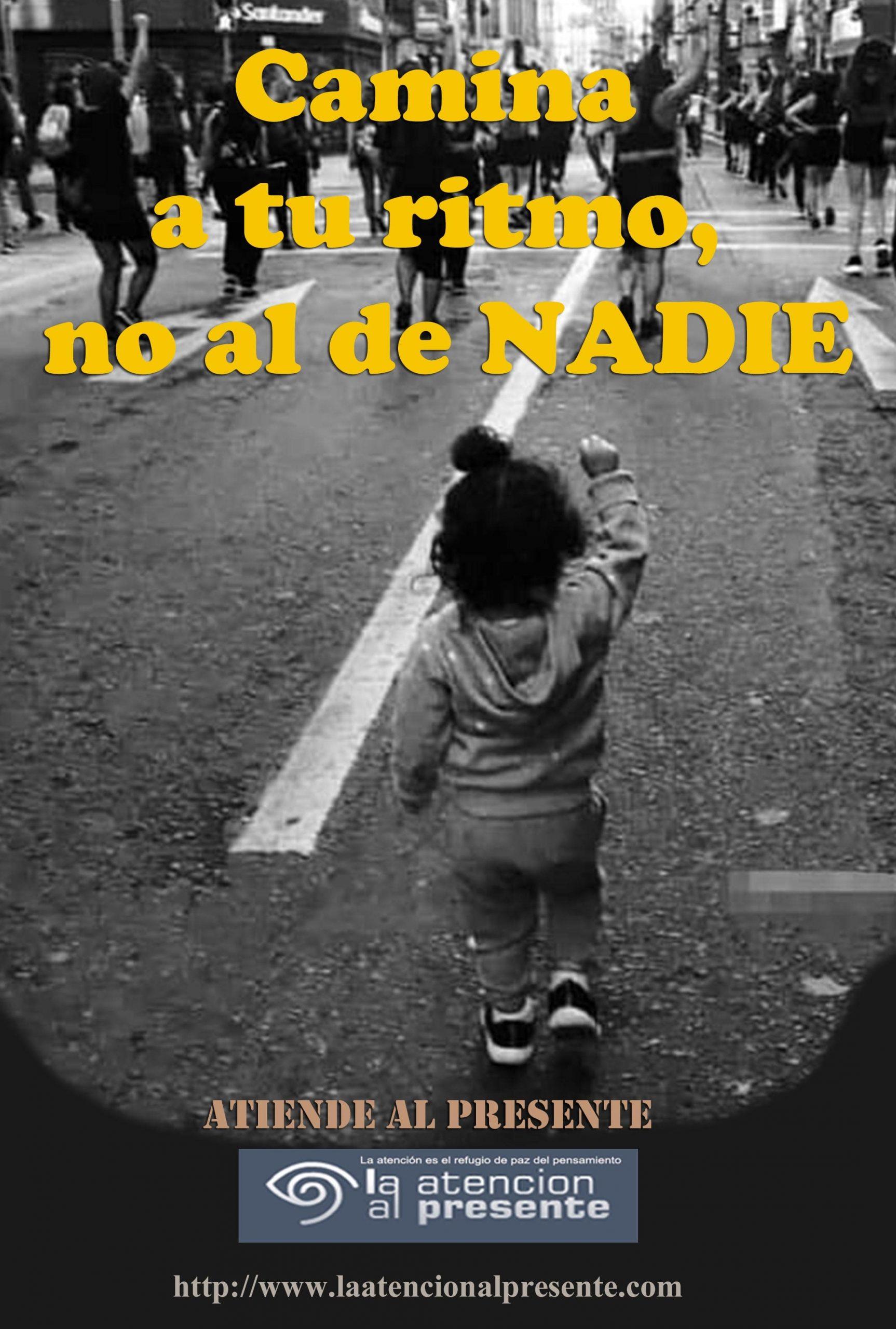 11 de marzo ISA Camina a tu ritmo no al de NADIE min scaled