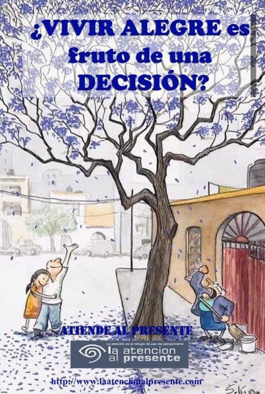 25 de Febrero Isa VIVIR ALEGRE es fruto de una DECISION min